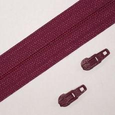 Opti Reißverschluss - 3 mm Laufschiene - magenta