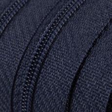 Endlosreißverschluss - 3 mm Laufschiene - dunkelblau