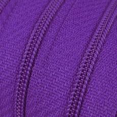 Endlosreißverschluss - 3 mm Laufschiene - lila