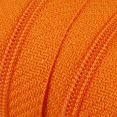 Endlosreißverschluss - 3 mm Laufschiene - orange