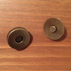 Magnetknopf - bronzefarben