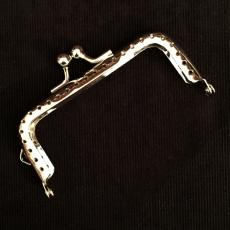 Taschenbügel - silberfarben -  8,5 cm