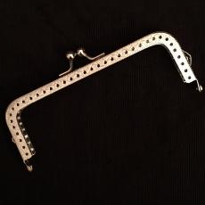 Taschenbügel - silberfarben - 12,5 cm