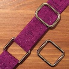 Set zur Befestigung von verstellbaren Taschenriemen - 25 mm