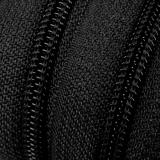 Endlosreißverschluss - 3 mm Laufschiene - schwarz
