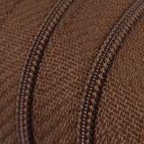 Endlosreißverschluss - 3 mm Laufschiene - braun