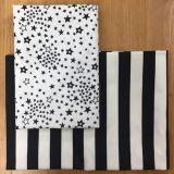 2 Fat Quarter - Sternstreifen