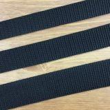 Gurtband 20 mm breit - schwarz
